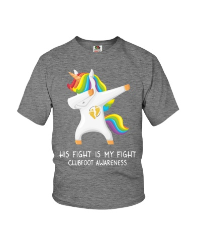CLUBFOOT Awareness Shirt - No one Fights Alone