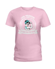 Congenital Myasthenia Syndrome Warrior Ladies T-Shirt thumbnail