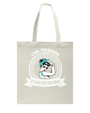 Congenital Myasthenia Syndrome Warrior Tote Bag thumbnail