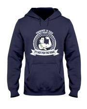 Trisomy 13 Dad Hooded Sweatshirt front