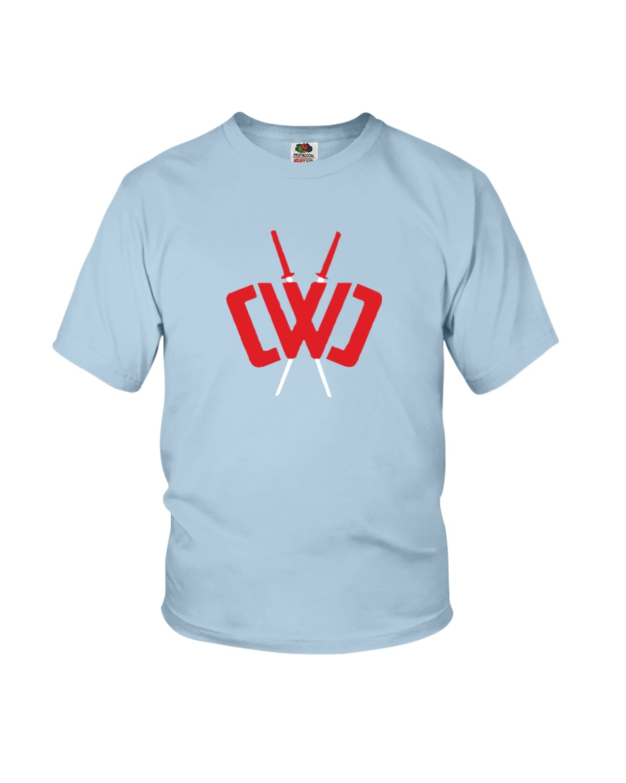 CWC T-Shirt For Kids Size M Full Color Youth T-Shirt