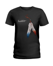Feather Ladies T-Shirt front