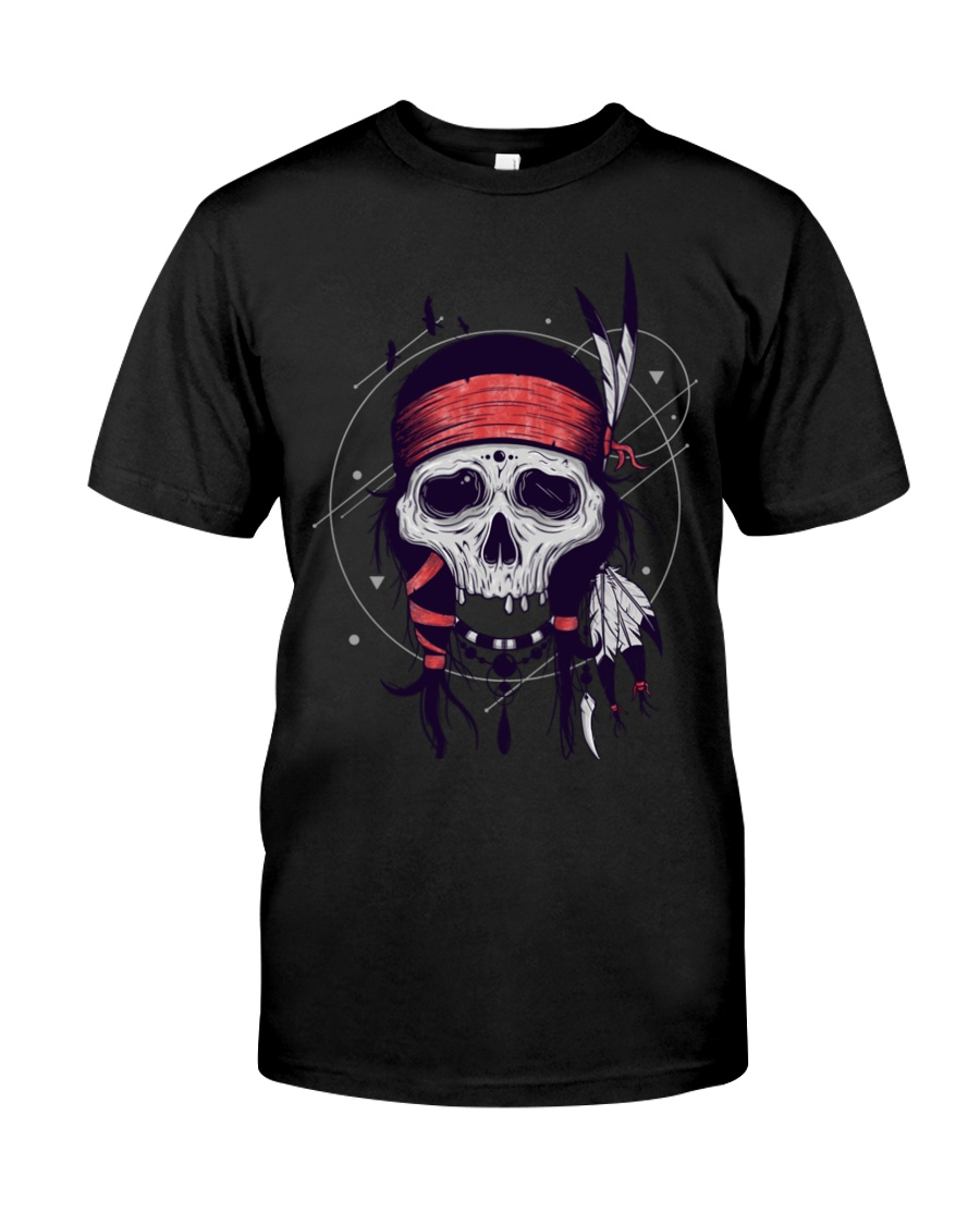 NATIVE SKULL Classic T-Shirt