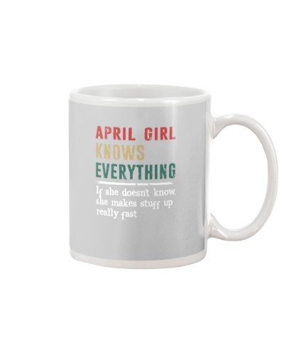 Funny April Girl knows everything-570  for her