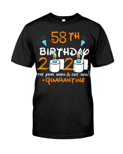Quarantined 1962 58th Birthday