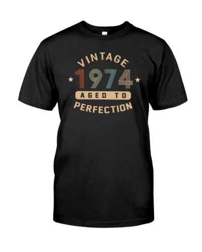 Vintage Aged to Perfection 1974 45th Birthday