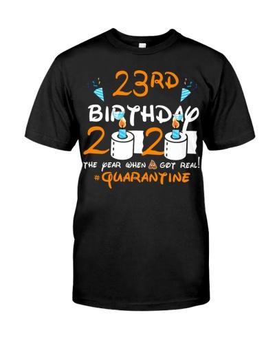 Quarantined 1997 23rd Birthday