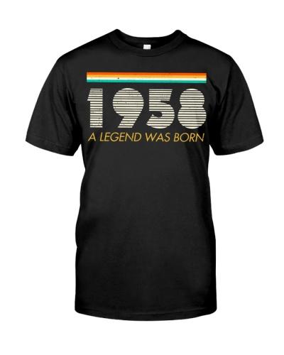 Vintage Legend 1958 61st Birthday