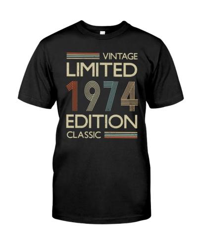 Vintage Classic 1974 45th Birthday Gift