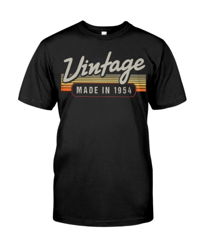 Vintage Made In 1954