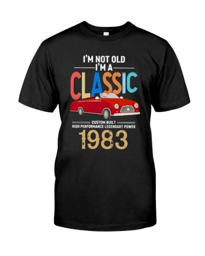 Vintage Classic Car 1983 36th Birthday