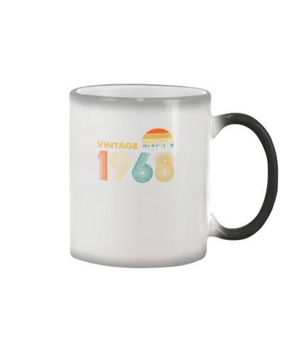 Vintage Sunset 1968 51st Birthday gift-456