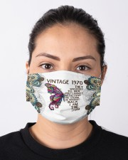 Vintage 1970 I Am The Storm Cloth face mask aos-face-mask-lifestyle-01