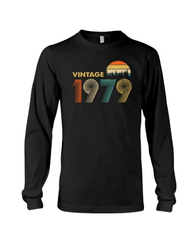 Vintage 1979 Sunset 40th birthday 456-plus size