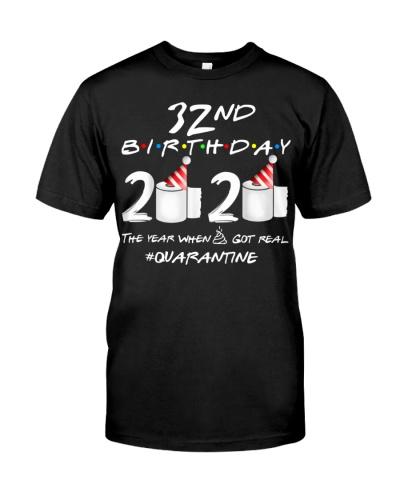 Quarantine 1988 32nd Birthday