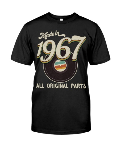 Vintage 45 Record 1967 52nd Birthday