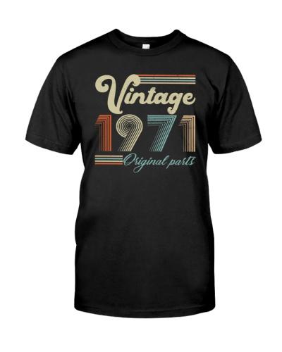 Vintage Classic 1971 48th Birthday Gift