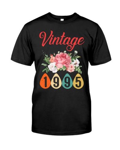 Vintage Flower 1995 24th Birthday