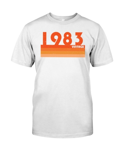 Vintage Retro 1983 36th Birthday
