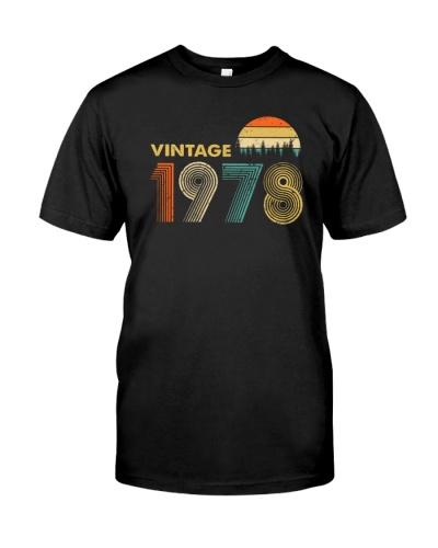 Vintage 1978 Sunset 41st Birthday