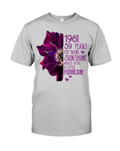 Vintage Sunshine and Hurricane 1961 59th Birthday