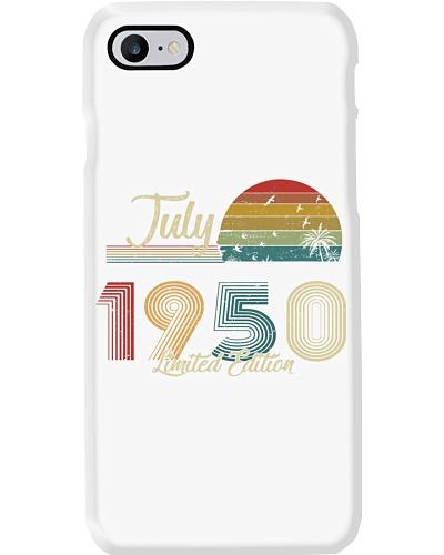 Vintage July Sunset Beach 1950