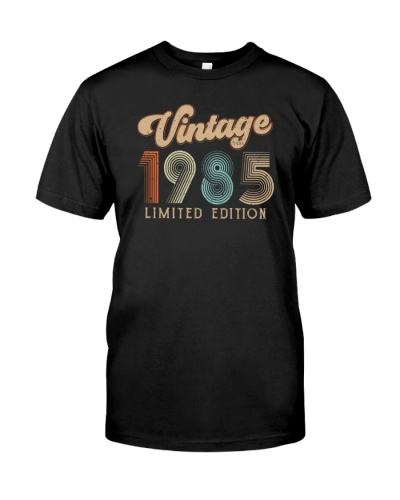 Vintage Limited Edition 1985 34th Birthday Gift