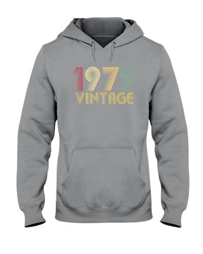 Vintage Retro 1979 40th Birthday 8H Plus size