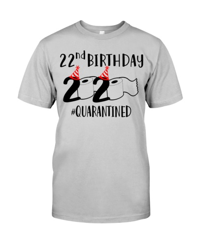 2020 Toilet Paper Quarantined 1998 22nd Birthday