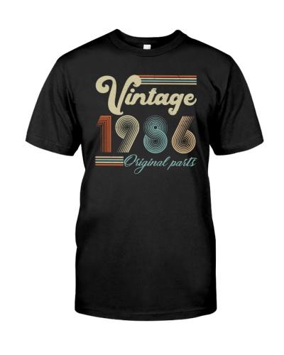 Vintage Classic 1986 33rd Birthday Gift