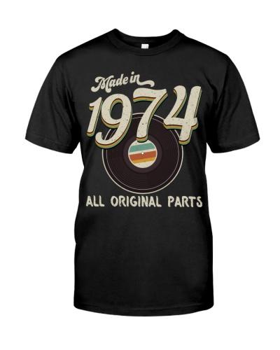 Vintage 45 Record 1974 45th Birthday