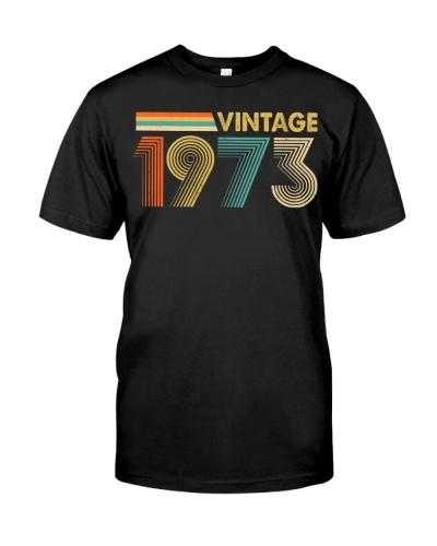 Vintage Retro 1973 46th Birthday