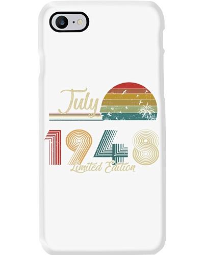 Vintage July Sunset Beach 1948