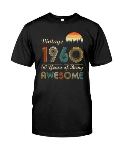 Vintage Sunset 1960 60th Birthday