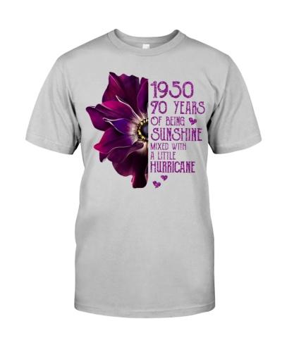 Vintage Sunshine and Hurricane 1950 70th Birthday