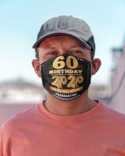 Quarantine 1960 60th Birthday Cloth face mask aos-face-mask-lifestyle-06