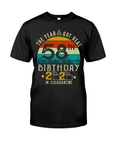 Quarantine 1962 58th Birthday