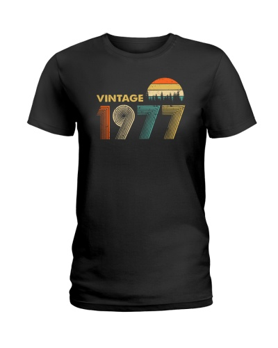 Vintage 1977 Sunset 42nd birthday 456-plus size