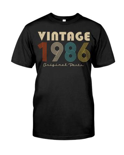 Vintage Original Parts 1986 33rd Birthday