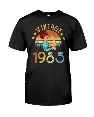 Vintage woman 524-Birthday 1985