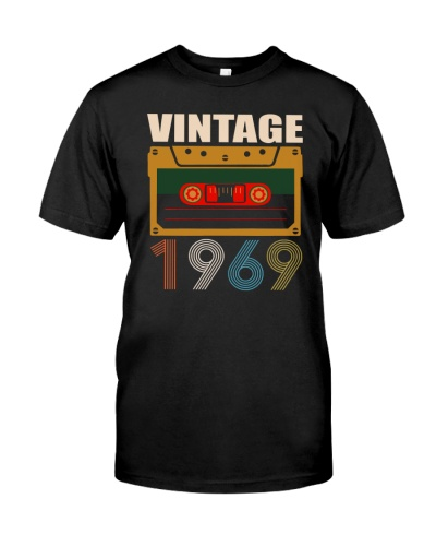 Vintage Cassette 1969 50th Birthday CST-plus size