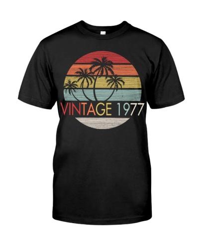 Vintage Sunset Beach 1977 42nd Birthday