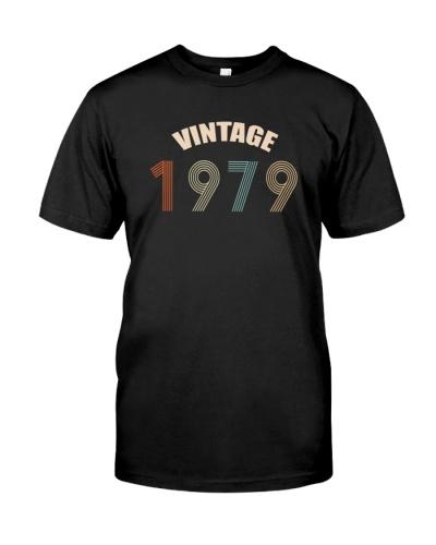 Vintage Retro 1979 40th Birthday