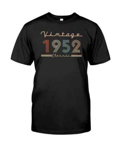 Vintage classic 1952 67th Birthday 439-plus size