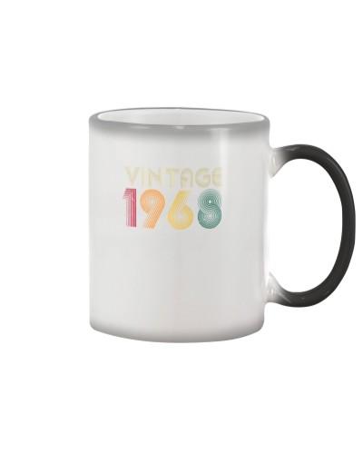 Vintage Retro style 1968 86st Birthday Gift
