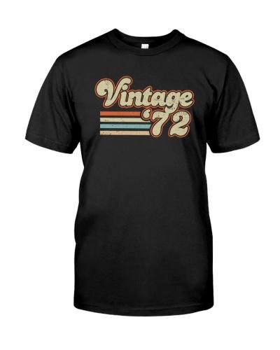 Vintage Retro 1972 47th Birthday Gift