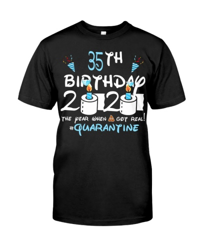 Quarantined 1985 35th Birthday