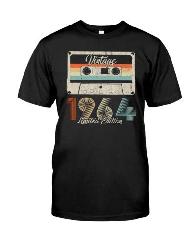 Vintage Limited Cassette 1964 55th Birthday