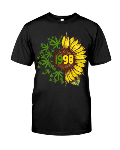 Vintage Sunflower 1998 21st Birthday