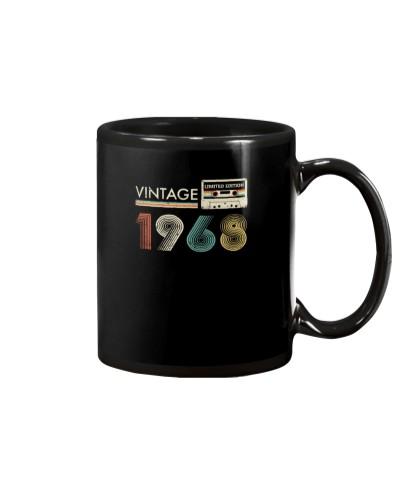 Vintage Cassette 1968 86st Birthday Gift
